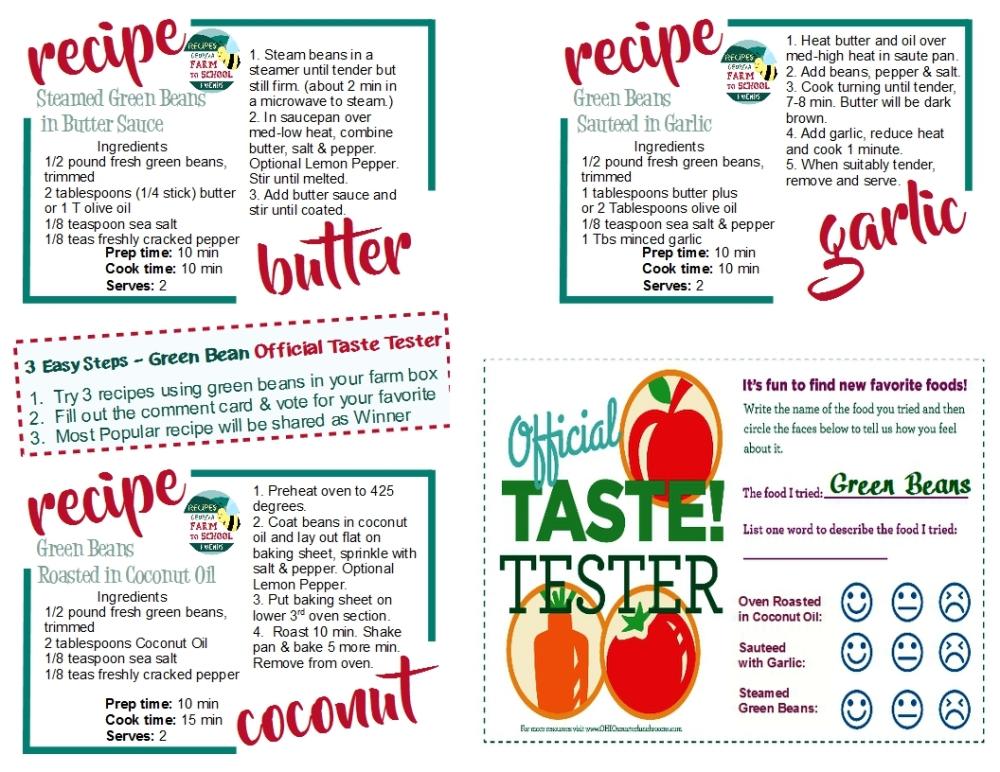3 recipes for taste test jpeg
