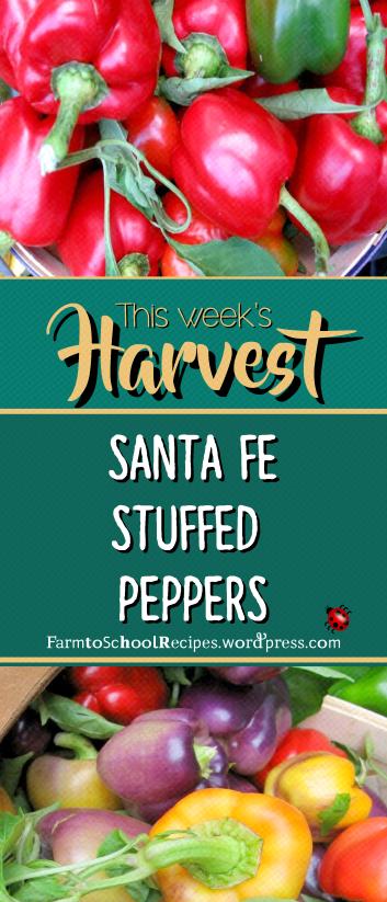 recipe of the week logo stuffed peppers