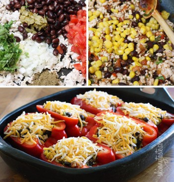 Santa-Fe-Turkey-Stuffed-Pepper-Recipe-550x576