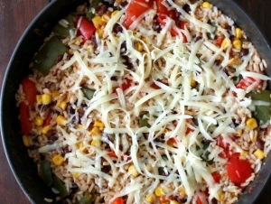 Cheesy-Southwest-Stuffed-Pepper-Skillet