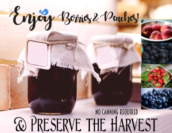 ENJOY PRESERVE HARVEST