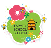 flower bee logo