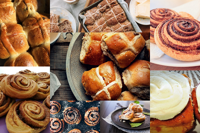 HOT CROSS BUN COLLAGE