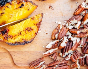 Pancakes-with-Campfire-Grilled-Nectarines-and-Pecans-14