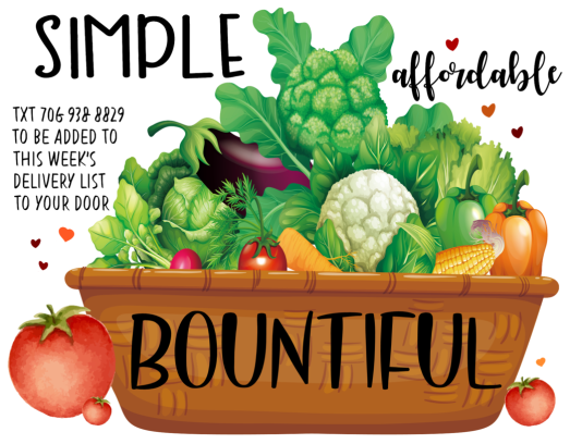 simple basket bountiful