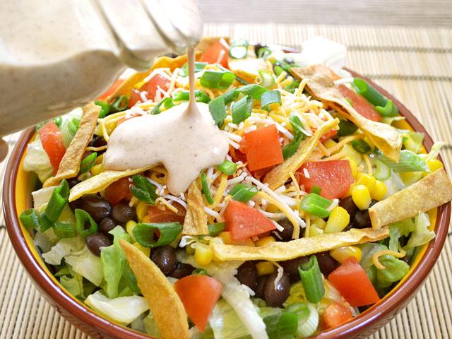 Southwest Salad Pour