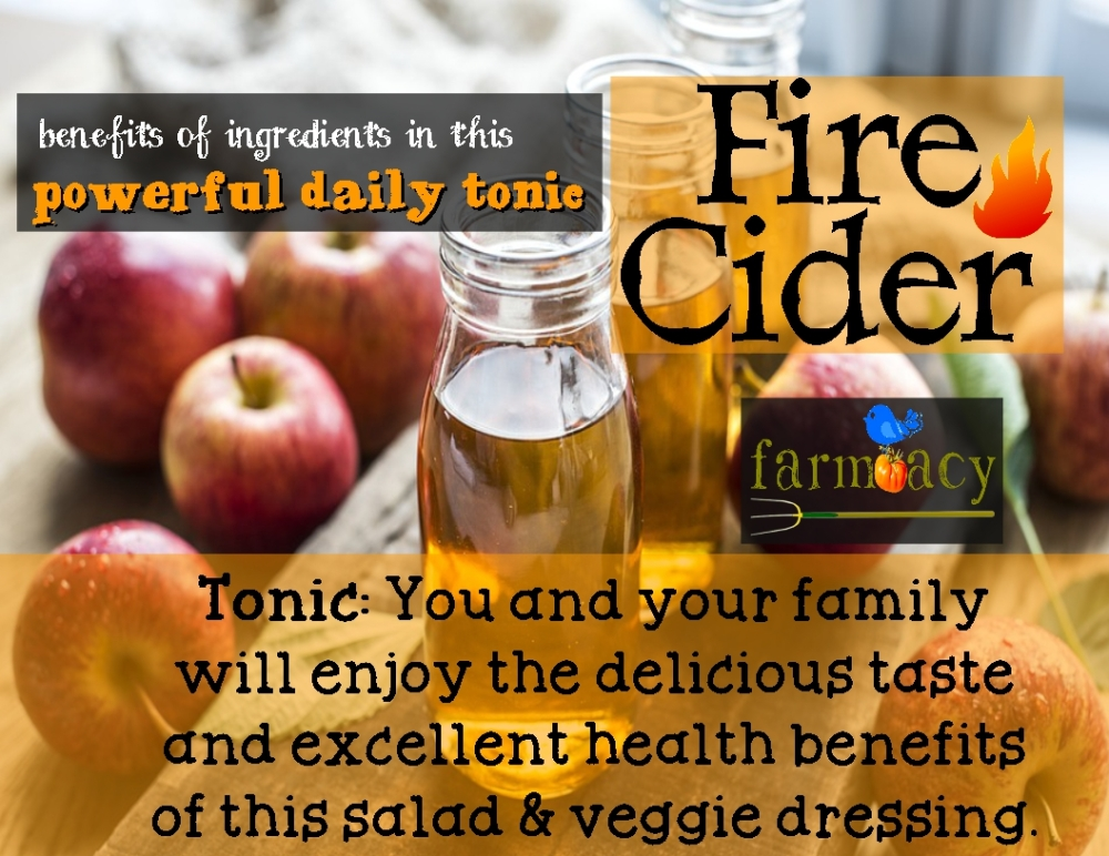 tonic fire cider ingredients