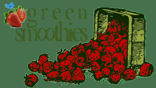 green smoothie logo bluebird