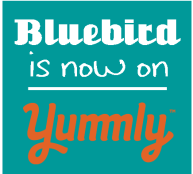 bluebird is now on yummly