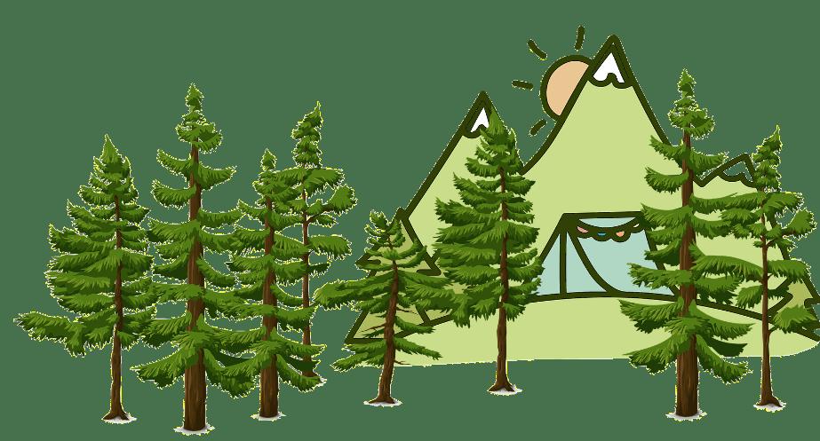 off grid trees