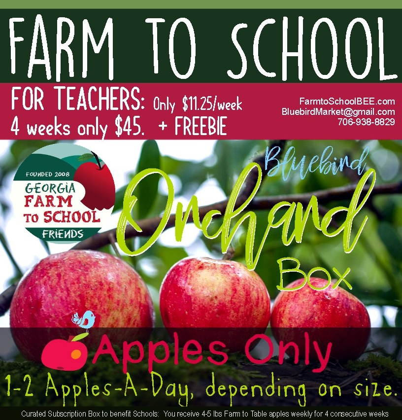 FARM TO SCHOOL APPLES ORCHARD