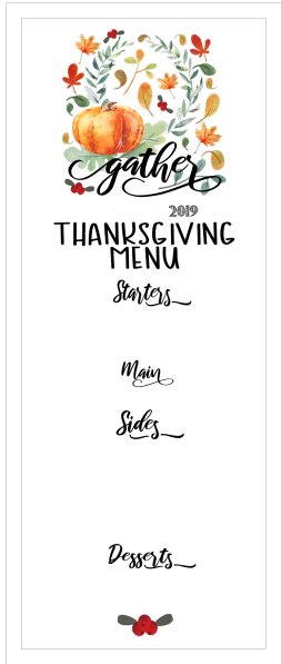 thanksgiving menu place card blank final